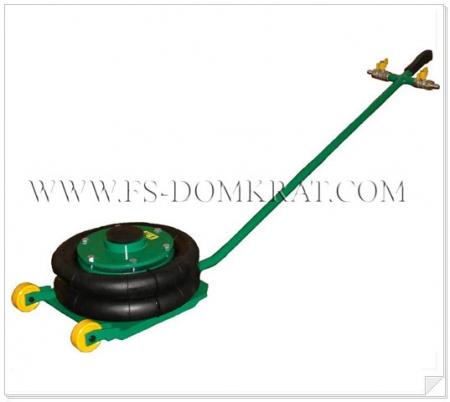 Домкрат пневматический подкатной ДП-2