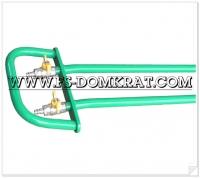 Домкрат пневматический подкатной ДП-6